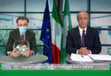 Maurizio crozza Attilio fontana Giulio gallera