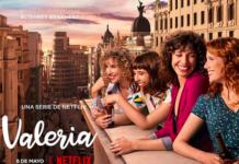 valeria Netflix poster serie tv