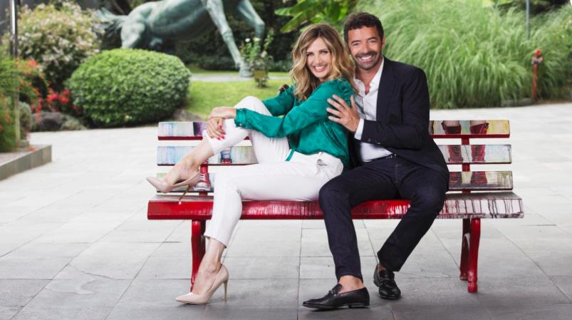 Lorella cuccarini e Alberto matano la vita in diretta