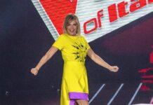 simona ventura the voice of Italy 2019
