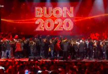 capodanno 2021 rai 1 canale 5 la7