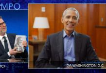 barack obama che tempo che fa intervista fabio fazio
