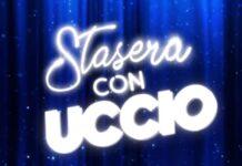 Il logo di Stasera con Uccio, lo spettacolo di Uccio De Santis in onda su Rai 2 il 15 e 22 giugno 2021
