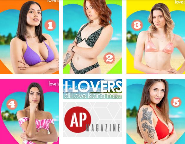 Le foto di tutte le concorrenti donne di Love Island 2021 Italia