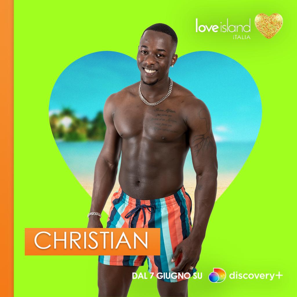 love island 2021 italia christian