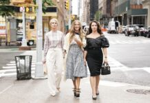 sex and the city and just like that cast nuova serie carrie miranda charlotte