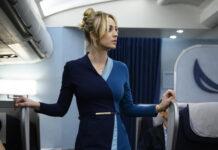 the flight attendant sky atlantic uscita kaley cuoco