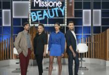 Missione Beauty, la conduttrice Melissa Satta e i giudici del nuovo programma di Rai 2 in onda fino a dicembre 2021