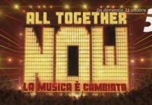 all together now 2021 quando inizia prima puntata 31 ottobre